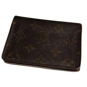 Louis Vuitton Monogram Card Holder/Wallet #372***